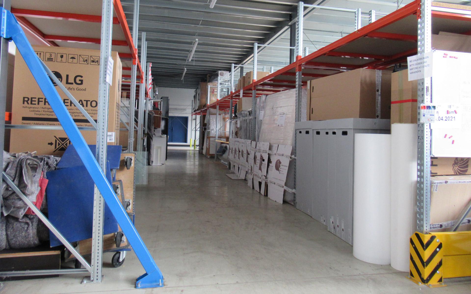 Unsere Hallen zur Lagerung in München sind klimatisch neutral gehalten, sicher und günstig gelegen.
